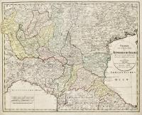 Charte vom westlichen Theil des Königreichs Italien nach...