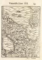 (Senza titolo) Carta geografica dell'Italia centro-settentrionale vista da nord