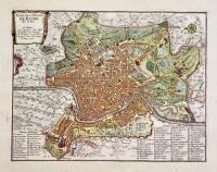 Plan de la ville de Romes.