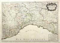 Partie Duché de Milan, la principauté de Piemont, le Montferrat, et la Republique de Genes…
