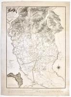 Carta della Diocesi di Milano divisa in regioni e pievi.