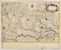 Ducato di Mantova con parte del Dominio Veneto, e del Milanese, et altri Stati circonvicini.