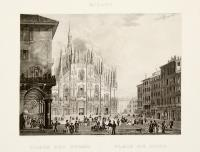 Milano – Piazza del Duomo – Place du Dome