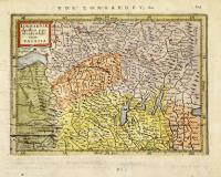Lombardiae alpestris pars occidentalis cum Valesia.