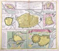 Pianta di Cremona e delle altre fortezze di Milano…