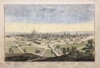 Milan, ville forte, Capitale du Duché de meme nom, l'une des plus grendes et plus considerable de l'Italie.