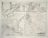 Plan de la ville & citadelle de Turin.