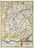 Pedemontanae totius prope Italia fertilissimae regionis una cum suis finitimis elegantissimo descriptio.