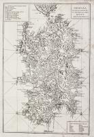 Sardegna ed isole aggiacenti secondo lo stato presente.