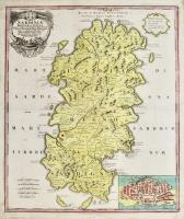 Sardiniae regnum et insula, uti per celeberr. P. CORONELLI  Reip. Venetae Cosmogr. Secundum statum hodiernum….