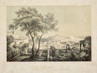Syrakues (Syracusae) im suedlichen Theile des Insel Sizilien an der Ostkueste, erbaut in dem Jahr 735 v. Chr.