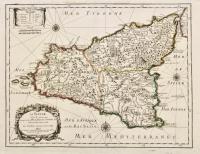 La Sicile avec les anciens noms de presque toutes se placet, rivieres, chasteaux et diverses observations nouvelles