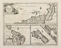 Insularum orientali, Siciliae lateri objacentium typus – Melita - Melita insula.