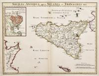 Sicilia antiqua quae et Sicania et Trinacria dicta.