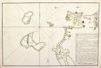 Plano del puerto de Trapano situado en la parte occidental de la isla de Sicilia con toda su principal sonda, marcas y enfilaciones para entrar con seguridad para el uso de Dn. Cayetano Valdes,  copiado por Josef Cordero en el puerto de Malta ano 1784.