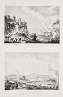 Vue des Salines et du Port de Trapani....... (Insieme a:) Vue de Monte San Giuliano, le Mont Erix des enciens.......
