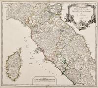 Etat de l'Eglise, Grand Duchè de Toscane et isle de Corse.