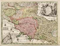Novissima et accuratissima delin. Status Ecclesiae et Ducatus Hetruriae.