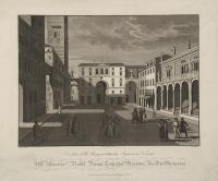 Veduta della piazza detta dei Signori in Verona