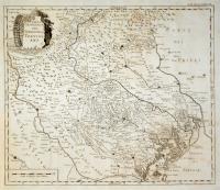 Carta geografica del territorio trevigiano.