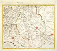 Carte nouvelle du territoire de Vicenza...