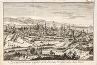 La città di Vicenza Capitale della Provincia Vicentina nello Stato Veneto.