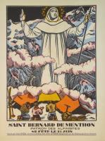 Saint Bernard de Menthon patron des alpinistes.
