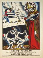 Saint Nicolas patron des marins, des enfants et des marchands de vin.