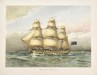 Battle Ship, about 1760.