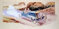 [Racing Car Number 11 / Grand Prix de France 1913 / Le Mans Pablot sur Delage].
