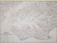 Piano della battaglia di Castelfidardo e presa di Ancona avvenute il 18 e 29 settembre 1860.