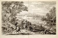 Veuë du Chasteau de Versailles du costé de L'orangerie.