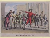 Maschere del teatro italiano dei secoli XVII e XVIII.