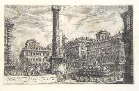 Colonna Antoniana. Curia Innocenziana edificata sulle rovine dell'Anfiteatro di Statilio Tauro.