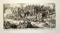 Veduta degli avanzi delle Case de Cesari sul Palatino. Avanzi della Casa Augustana. Avanzi della Casa Tiberiana. Avanzi della Casa Neroniana…