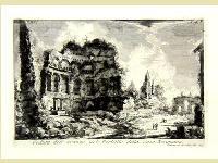Veduta  dell' avanzo del Peristilo della casa Neroniana.