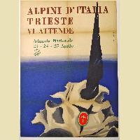 ALPINI D'ITALIA. Trieste vi attende. Adunata nazionale 23-24-25 aprile.