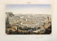 Vue générale de Rome prise du Mont Janicule/Vista general de Roma tomada del Monte Gianicolo.