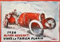 1926 ALFIERI MASERATI VINCE TARGA FLORIO