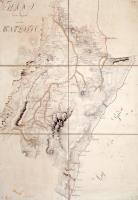Plan der Gegend um den Monte Baldo.