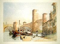 The Old Castle & Bridge at Verona.