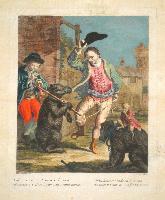 (L'orso che balla) Al rauco suon di pastoral avena costretto è l'orso a far sua strana danza: or tu lettore modena lo mena se pure il tempo per ciò far t'avanza