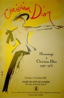 Hommage a Christian Dior. 1947 – 1957.