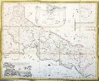 Topografia della provincia di Cremona tratta dalla celebre carta dell'ex Stato di Milano e dedicata al Signor Cavaliere Antonio Persichelli.