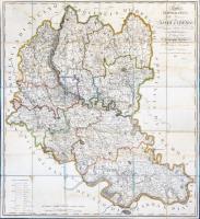Carta topografica della provincia di Lodi e Crema…dedicata al Signor Giuseppe Casati.