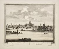 Templum D. Pauli apud Londinalis spectatis semu (ripetuto in olandese).