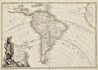 L'Amerique meridionale divisée en ses principaux etats