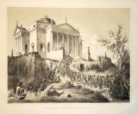 Der Sturm auf die Rotonda bei Vicenza durch das Regiment Prohaska den 10.ten Juni 1848.