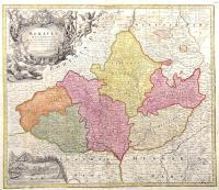 Moravia Marchionatus in sex circulus divisos…