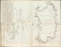 Isola di Sardegna (con:) Descrizione delle bocche di Bonifacio o sia passaggio tra le due isole della Sardegna e Corsica e le osservazioni per l'ancoraggio della Maddalena.